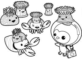 Octonauts Coloring Pages Printable Free Coloringstar Octonauts Coloring Pages