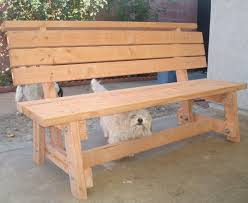 Diy Bench Seat Simple Garden Bench Seat Made By Heriberto