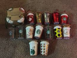 Starbucks Christmas Decorations Starbucks Ornaments Christmas The Hutch House Pinterest