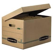 cardboard file boxes target