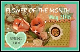 Flowers Of The Month Flower Of The Month Diy Paper Flowers May 2015 Tulip An Inkin