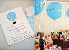 air balloon baby shower simplicity papers charming paper goods