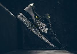 atmos asics gel lyte v black gold sneakerfiles