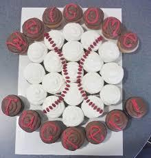 best 25 baseball cupcake cakes ideas on pinterest baseball