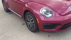 volkswagen beetle pink convertible 2017 volkswagen beetle pink edition youtube