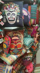 Home Decor Atlanta New Colorful Karma Living Design Pillows Ottomans Artifacts Rugs