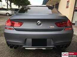 matte grey bmw miami car wrap portfolio