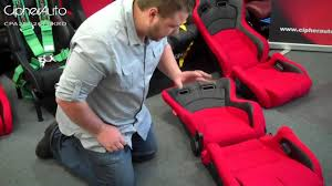 mustang seats ebay cipher auto cpa2000 series racing seats brackets installation