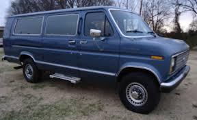 1988 F250 Diesel 1988 Ford E 350 Club Wagon Xlt One Ton 15 Passenger Extended Van