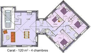 plan de maison en v plain pied 4 chambres plan de maison plain pied 4 chambres gratuit plan rdc maison
