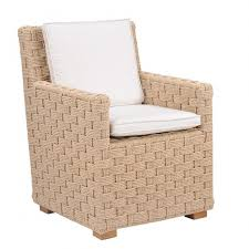 kingsley bate st barts wicker dining armchair