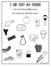 free printable healthy food group worksheets food groups