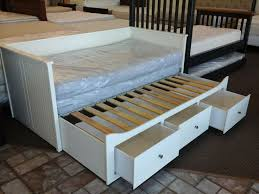 Daybed With Pop Up Trundle Ikea Beautiful Daybed With Trundle Ikea Brimnes Daybed Frame With 2
