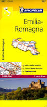 Map Italy by 357 Emilia Romagna Michelin Local Map Italy Italy Maps Where