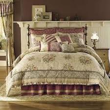 Antique Rose Comforter Set Croscill Antique Vintage Rose Queen Size Comforter Set Pillows Valance