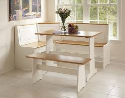 Kitchen Table With Benches Step Halicio - Benches for kitchen table