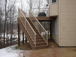amazing deck stair railing how to build deck stair railing
