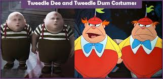 Tweedle Dee Tweedle Dum Halloween Costumes Kids Funny Halloween Costumes 24 Awesomely Clever Kids Baby