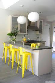 yellow and gray kitchen contemporary kitchen tara seawright