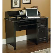 Computer Desk With Shelves by Sauder Edge Water Estate Black Desk With Storage 409043 The Home