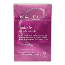 quick fix for color correction treatments box malibu c cosmoprof