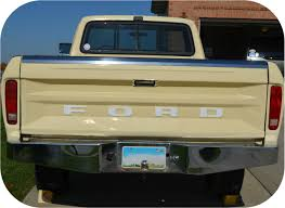 Ford Ranger Truck Decals - white 72 79 ford pickup truck fleetside ranger tailgate vinyl