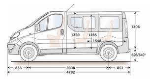 Sprinter Dimensions Interior Minibus Dimensions U0026 Seating Layouts Common Uk Specific Vehicles