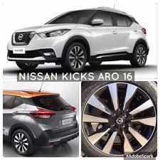 nissan kicks 2018 jogo de rodas nissan kicks 2018 pcd isenção aro 16 krmai r