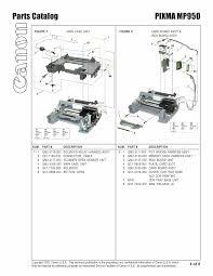 canon printer manuals canon pixma mp950 mp 950 service u0026 repair manual