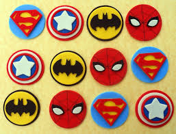the 25 best superhero cupcake toppers ideas on pinterest super