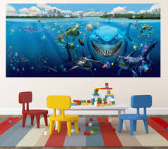 finding nemo wall mural home design finding nemo wall mural