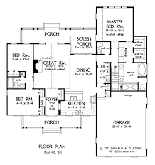 Cottage Floor Plans With Screened Porch 139 Best House Plans Images On Pinterest Craftsman House Plans