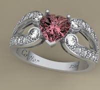 free print ready rings 3d ring cartier 3d models to print yeggi