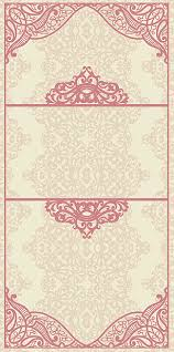 vintage cards wedding card decorative pattern vector background wedding cards