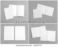 booklets templates free photos top view of blank folded flyer booklet or brochure