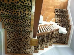 Leopard Runner Rug 38 Best Animal Print Stair Runners Images On Pinterest Animal