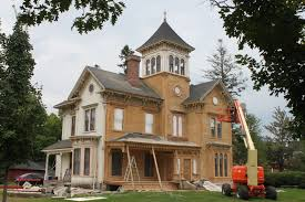 landmark butters house being restored townships heritage