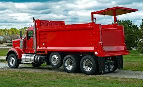dump truck bodies heritage truck equipment akron ohio