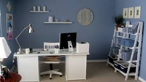 White Home Office Desks Rectangular White Wooden Office Desk And Silver Chrome Reading