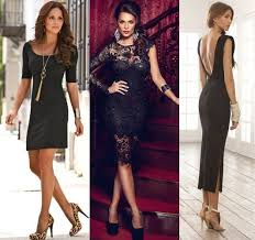 how to accessorise a black dress u2013 get here some stunning ideas