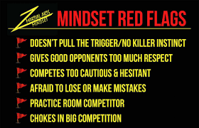 Red Flags Mindset Monday Breaking Down Mindset U0027red Flags U0027 In Martial Arts