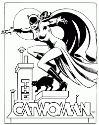 catwoman coloring pages google search batman art pinterest