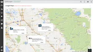 Google Maps Los Angeles by Network Mapping Network Maps Network Mapping Software Opmanager