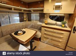 rv camping inside stock photos u0026 rv camping inside stock images