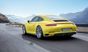 yellow porsche 911 new porsche 911 carrera 4 and 911 targa 4 for 2016 elite traveler