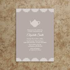 tea party invitation printable pdf tea party invite baby