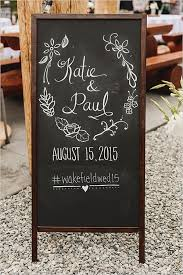 wedding chalkboard ideas 20 chic rustic chalkboard wedding sign ideas emmalovesweddings