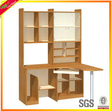 Computer Desk Bookcase Wooden Computer Desk With Bookshelf Wooden Computer Desk With