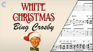 guitar white christmas bing crosby sheet music chords