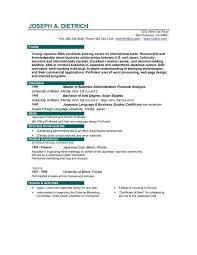 Functional Resume Sample Template